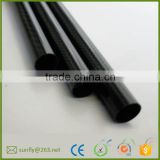 custom carbon fibre rectangular tube/ china factory carbon fibre tubes suppliers/high strengthen carbon fiber structural tubing