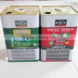 dark high temperature epoxy adhesive of red and green color