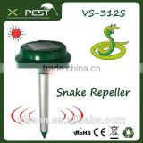 Vensmile Solar Powered Mole Repellent Gopher Repeller Vole Trap Repel Outdoor Rodent Mice Rats Chaser and Waterproof for Garden