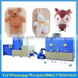 factory price fiber opening and carding machine with plush toy stuffing filling machine