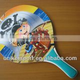 Racquet Wood/PP/PS Colorful Beach Racket /Bat Sets/Beach Paddle