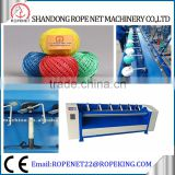 ball making machine rope machine plc controlled plastic pp/jute/sisal/cotton thread twine ball winder machine factory for sale