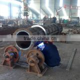 High strength concrete pole making machine , Precast concrere electric pole production line
