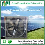 High air volume 11746 CFM 810mm industrial exhaust fan solar dc motor cooling fan