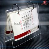 Custom Desk Calendar Plastic Stand/Calendar Pen Holder