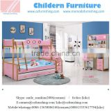 SJA01Modern Kids Double Deck Bed Design for lovely appearance / Kids wooden bunk bed