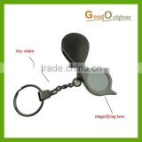 AP212 Key Chain with magnifying lens 6 x magnification