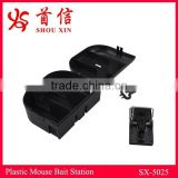 Hot Sales Mice Bait Station Rat Bait Box Catch Mouse trap Plastic Black Rodent Catcher SX-5025