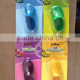 2015 plastic crocs car air freshener with sport scent and customer logo for dollar store