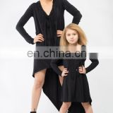 Girl Jersey Dress Stretchy Mom and Daughter Dresses