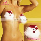 Beauty girl christmas fashion sexy decorative nipple cover