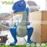 Kids Playground Decoration Resin Statue Lovely Catoon Animals
