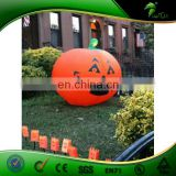 Hongyi New Design Inflatable Halloween Pumpkin Replica Replica Balloon with Led for Event