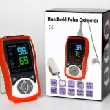 Veterinary Handheld Pulse Oximeter SpO2 Heart Rate Continuous Detection Pets Standard Configuration