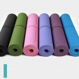Waterproof Fitness Tpe Yoga Mat Pvc Nbr