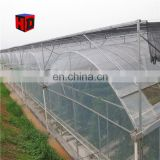 15 years warranty 100% bayer reinforced cheap plastic agriculture single tunnel rose flower greenhouse