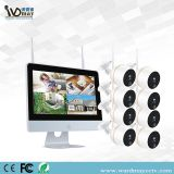 8CH 2.0MP CCTV Wireles Home Security WiFi NVR Alarm System Kits with 12 Inch Touch Screen