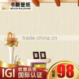 Simple modern gilt vertical stripes yarn nonwoven bedroom shop for living room tearoom box -3d wall paper designer wallpaper