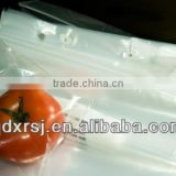 food grade LDPE saddle ziplock bags/grip seal bags/plastic zipper bags/food storage bags with zipper top