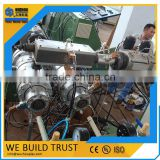 Electric Conduit Plastic Flexible PVC PP PE Pipe Making Machine