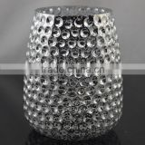 show pieces for home decoration glass vase