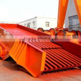 mining motor vibrating hopper feeder machine for iron ore