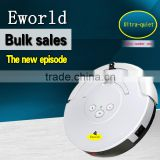 Dry robot vacuum cleaner ,Multifunction robotic auto vacuum cleaner, infrared ray control