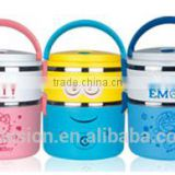 Metal Material and Freshness Preservation Food Container Feature 2 layers stainless steel lunch box