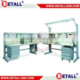Test electronic work bench design for workshop (Detall)