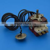 Capillary thermostat for washing machine use