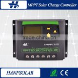 Timer and battery type 12v 24v 48v solar charge controller