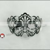 Brand New Fashion Laser Cut Clear Rhinestones Plastic Pretty Mask for Party