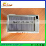 2016 factory supply super capacity solar charger 8000mah,solar mobile phone charger, power bank solar, wholesale solar cellphone