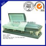 20H2043 funeral supply good quality cheap price coffin American steel casket
