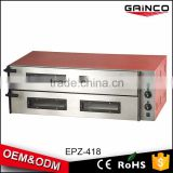 hot selling oem commercial kitchen equipment stainless steel fire stone electric pizza oven kit EPZ-418