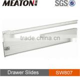 150mm high white painted panel drawer slide