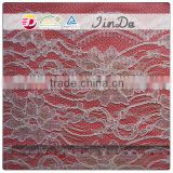 2014 stylish nylon mixed cotton embroidery floral lace crochet for dress