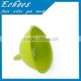 food grade silicone green jar funnel for wholesale