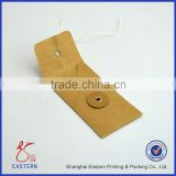 Kraft Envelope with Button and String Closure,Kraft String Tie Envelope,Decorative Mailing Envelopes