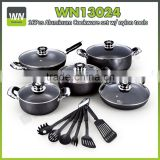 Aluminium pan induction cookware set cookware sets kitchen made in China with best price