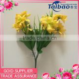 Tianjin artificial flower factory wholesale home decoration artificial silk & plastic flower bouquet