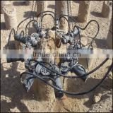 best construction machinery excavator crane part concrete hydrailic round pile breaker/cutter