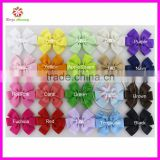 "3.5"" Baby Girls Boutique Hair Bows Hair Accessories,Kids Grosgrain Ribbon Hair Bows WITHOUT Hair Clips"