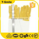 Stitching welding gloves wholesale oil field work glove