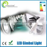 10w 20w 30w round gimbal elephant nose shape trunk lighting high quality led trunk light