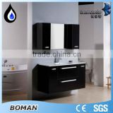 Wholesale Mirror Cabinet High End Washing Hand Basin Cabinet Luxury DIY PVC or MDF Bathroom Cabinet