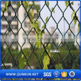 Rolltor Maschendrahtzaun/Factory price security used chain link fence for sale /rolling gate chain link fence(supplier)