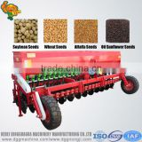 Simple agriculture machines 24 row tractor combine rice seed drill for wheat millet sesame