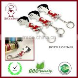 The Suarez Bottle Opener keychain opener cap lifter