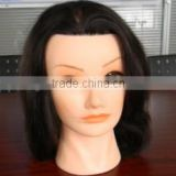 100% Natural human hair mannequin heads, african american mannequin head, cheap human hair mannequin head for hairdresser